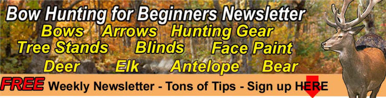 Bow Hunting for beginners Newsletter by www.richardpresents.com
