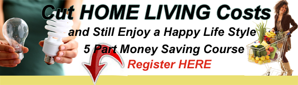 Cut Home Living Costs FREE eCourse