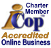 Accredited Online Business and Charter member of i-Cop